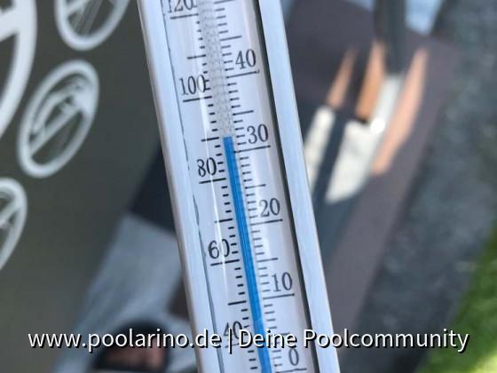 32°C Wassertemperatur