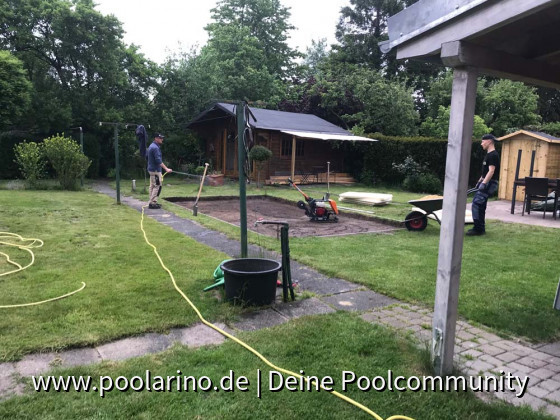 Der Pooluntergrund